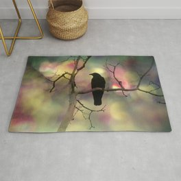 Crow Dreams In Colors Rug