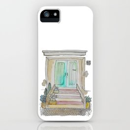Little Italian House iPhone Case