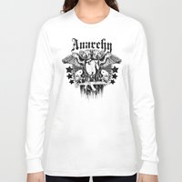 sons of anarchy Long Sleeve T-shirts featuring Anarchy by Tshirt-Factory