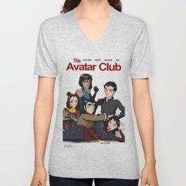 The Avatar Club Unisex V-Neck