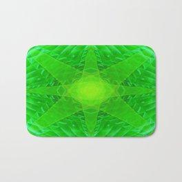 green star Bath Mat
