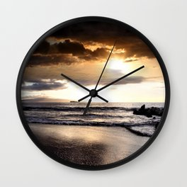 Rhythm of the Island Wall Clock
