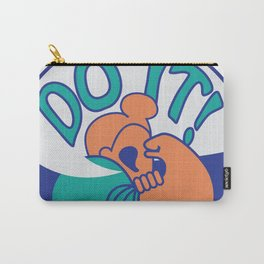 Do It! Orange Carry-All Pouch