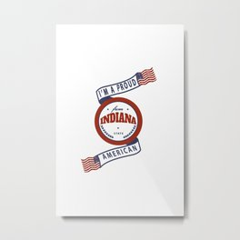 Indiana Metal Print