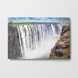 Zimbabwe, Africa - Victoria Falls Metal Print