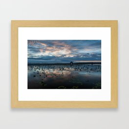 Inle Lake Sunrise Framed Art Print