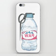 water bottle grenade  iPhone & iPod Skin