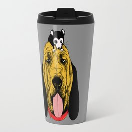 The Mouse and the Bloodhound Travel Mug