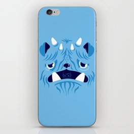 The Bluest Monster Ever :(( iPhone Skin