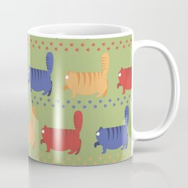 March of fat cats Coffee Mug