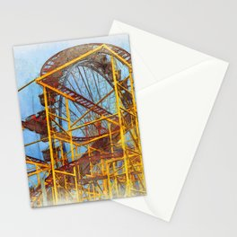 Munich Beer Festival - Roller Coaster & Ferris Wheel Stationery Cards