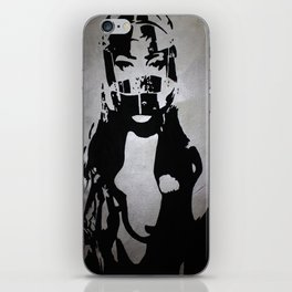 Don't Ride Without A Helmet iPhone Skin