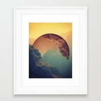 wave Framed Art Prints featuring Esfera by Victor Vercesi