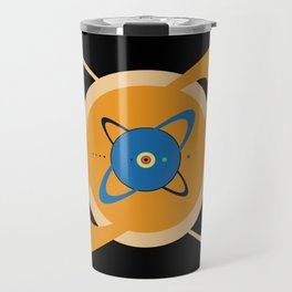 Solar System To Scale - Concentric Travel Mug