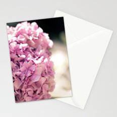 The beautiful hydrangea Stationery Cards