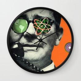 Atomic Eye Wall Clock