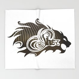Sher (Lion) Throw Blanket