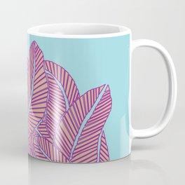 Feather Nest Blue Beige and Purple Coffee Mug