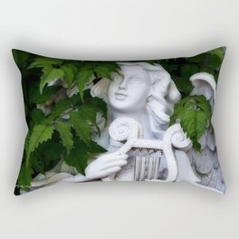 Garden Angel Rectangular Pillow