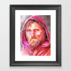 Viggo Mortensen  Framed Art Print