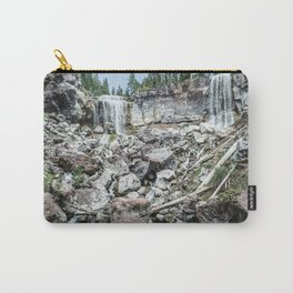Rock Land Waterfall // Natural Beauty Wilderness Photography Decoration Carry-All Pouch