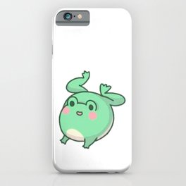 cute frog iPhone Case