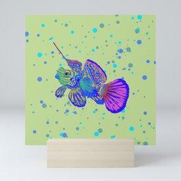 Dragonette - Synchiropus Splendidus Magica Yellow Mini Art Print