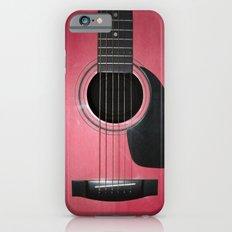 Pink Guitar iPhone 6s Slim Case