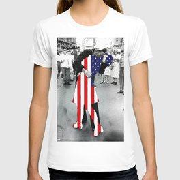 American Woman Acrylic T-shirt