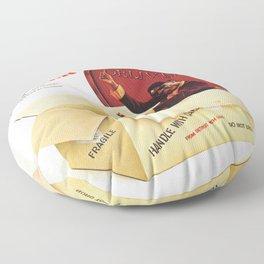 stevie wonder signed sealed 2021 Floor Pillow