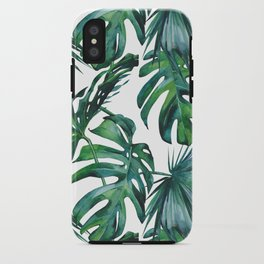 Tropical Palm Leaves Classic iPhone Case