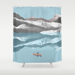 No River Wide Enough Shower Curtain