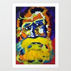 Metal Man Art Print