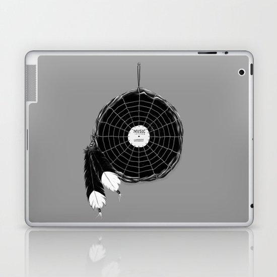 Music Catcher Laptop & iPad Skin
