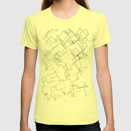 Plan abstract T-shirt