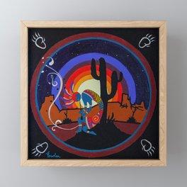 Kokopelli #1 Framed Mini Art Print