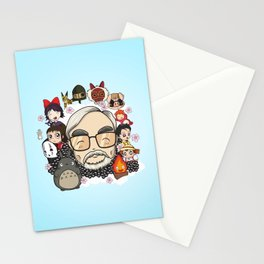Ghibli, Hayao Miyazaki and friends Stationery Cards