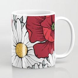 Beautiful flowers seamless pattern Coffee Mug