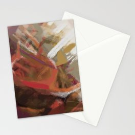 Abstract landscape 9 Stationery Cards