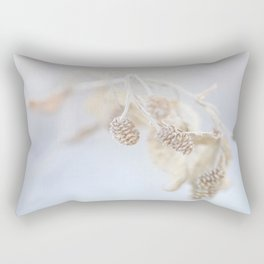 Winter Stillness Rectangular Pillow
