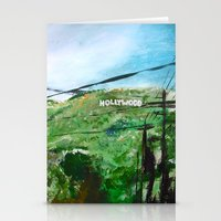 hollywood Stationery Cards featuring Hollywood by James Peart