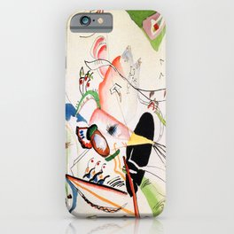 Wassily Kandinsky In Grey Study iPhone Case