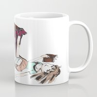 reading Mugs featuring Reading by Ciccimon