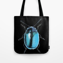 Insecte blue métal colors fashion Jacob's Paris Tote Bag