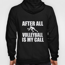 Volleyball After All Volleyball Player Gift Hoody