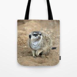 Meercat watching  Tote Bag