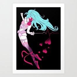 Fencer Art Print