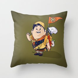 Up   Russell Throw Pillow
