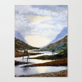 Tripods Canvas Print