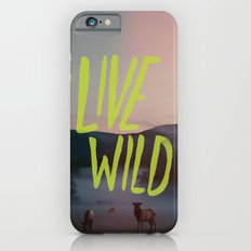 Live Wild Slim Case iPhone 6